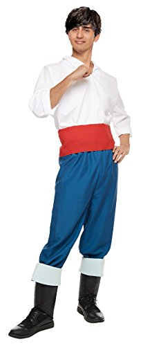 Disney's Little Mermaid Costume - Prince Eric Costume - Teen/Men's STD -