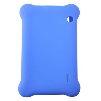 KeyZone Silicone Rubber Case Cover for 7'' 7 inch Android Capacitive Table PC PDA #01 Blue 7' Universal Tablet
