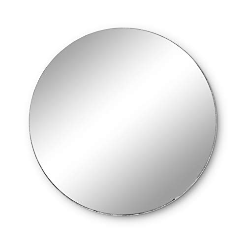 Round Mirror Wedding Table Centerpieces, 10 Pieces, 12