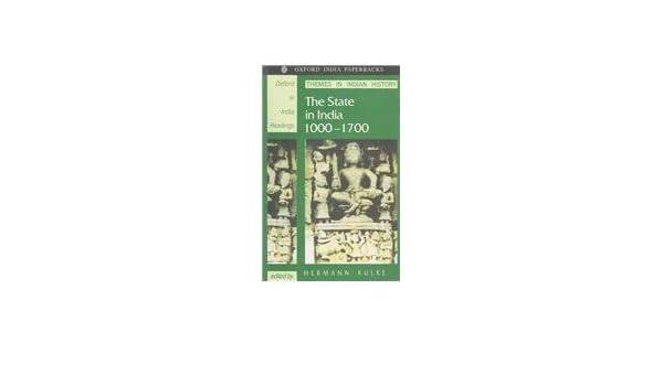 HERMANN KULKE THE STATE IN INDIA EBOOK
