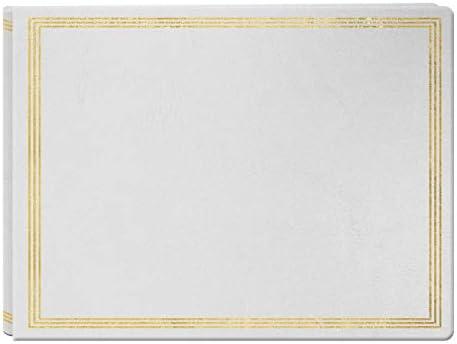 Extra Large Magnetic Page X-Pando Photo Album, White