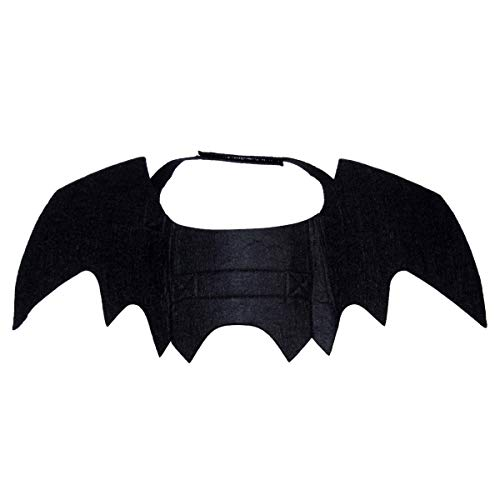 LIHEXING Pet Bat Wings, Cat Dog Bat Costume, cat bat Wings, Christmas cat Costume, Cat Christmas, Party cat Wings for Halloween, Christmas, Parties or Daily Wear, Photo Shoot, Parades and More.