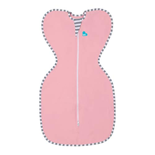 Love To Dream Swaddle UP, Pink, Small, 8-13 lbs., Dramatically Better Sleep, Allow Baby to Sleep in Their Preferred arms up Position for self-Soothing, snug fit Calms Startle Reflex