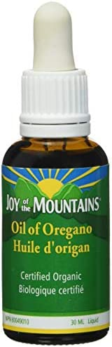 Oregano Oil – 1 Oz 30ml, 100 Certified Organic
