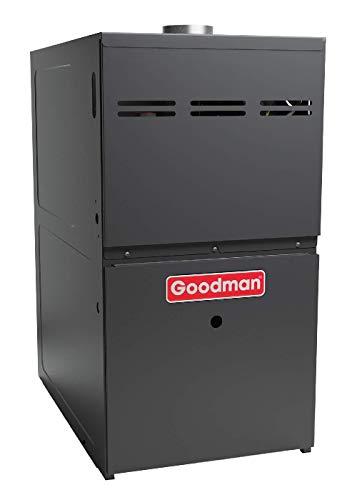 Goodman GMH81005CX Gas Furnace, Two-Stage Burner/Multi-Speed Blower, Upflow/Horizontal Low NOx 80% AFUE, 3-5 Ton 1/2 HP - 100,000 BTU