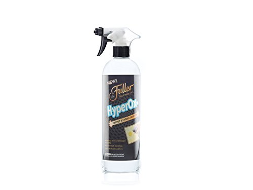 Fuller Brush HyperOx Carpet & Fabric Spotter with Sprayer - Removes the Tough Set-in Stains - Odor Eliminator -Citrus Fresh Scent - 24 oz. (Blood Stain Removal From Clothing That Set In)
