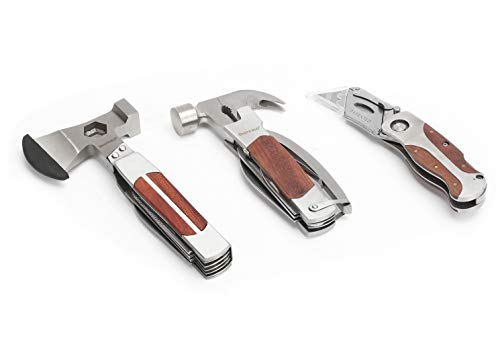 Sheffield 3 Piece Multi-Tool and Knife Set