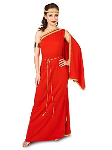 Royal Ruby Toga Adult Costume -