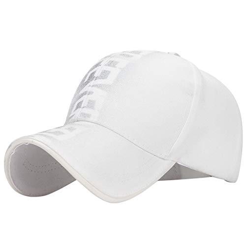 (hositor Hat for Men, Fashion Unisex Military Style Flat Cap Vintage Baseball Cap Sport Sun Hat )