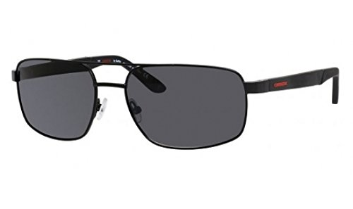 Carrera 8006/S Sunglass-003P Black (Y2 Gray Polarized - By Sunglasses Carrera Safilo