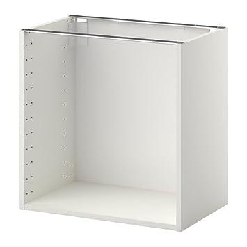 IKEA METOD auf die Schrank-Rahmen, weiß: Amazon.de: Küche ...