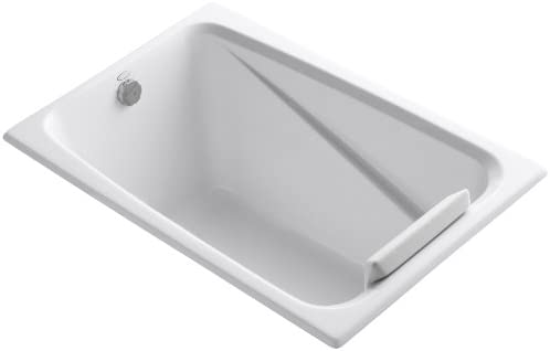 KOHLER K-1490-X-0 Greek 4-Foot Bath, White