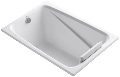 KOHLER K-1490-X-0 Greek 4-Foot Bath, White