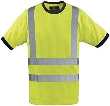 Hiviz Yard - Camiseta (talla XXXL), color amarillo y negro: Amazon.es: Bricolaje y herramientas