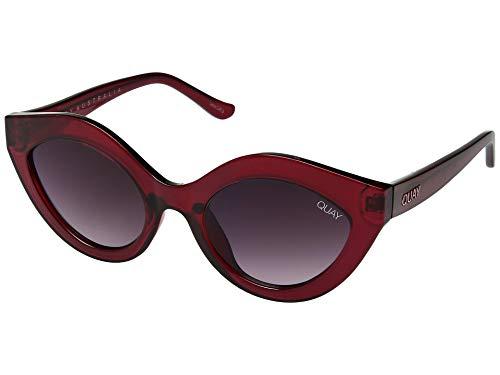 (Quay Women's Goodnight Kiss Sunglasses, Red/Purple, One Size )