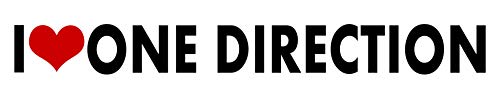 one direction vinyl decal - 1