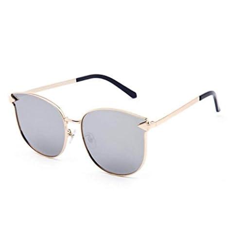 5db740203a Lovely Gafas De Sol Retro De La Playa Gafas De Sol De Gran Tamaño Gafas De