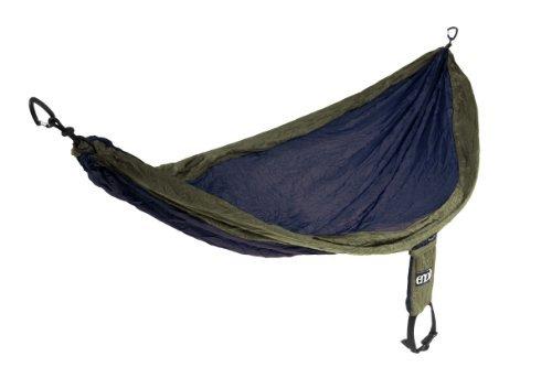 Eagles Nest Outfitters - SingleNest Hammock, Navy/Olive - Backpacker Socks