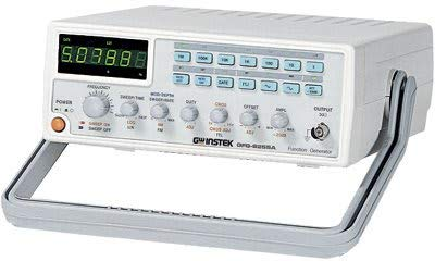 (GW Instek GFG-8219A Function Generator with 6 Digit LED Display, Frequency Counter, Sweep and AM/FM Modulation, GCV Output, 0.3Hz to 3MHz Frequency Range)