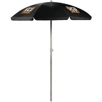 NCAA Hampden Sydney College Tigers Digital Print Umbrella, Black, One Size