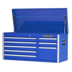 "41″"" 8 Drawer Professional Tool Chest – Blue Tools Equipment Hand Tools"