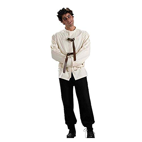Forum Novelties Men's Straight Jacket Costume - Pick Size (X-Large, White) -