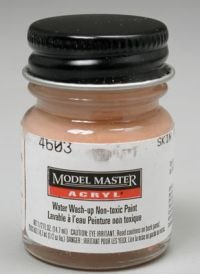 Skin Tone Warm Tint Testors Acrylic Plastic Model - Warm Skin Tone