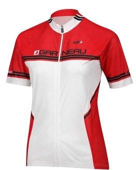 Louis Garneau Women's Equipe Short Sleeve Jersey SMALL RED