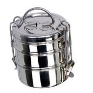 Buy Royal Shappire Stainless Steel Tiffin Box Lunch Box In 3