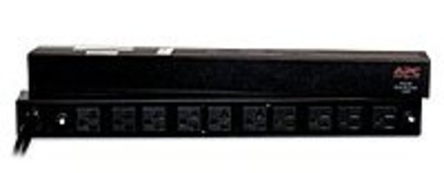 APC AP9560 12 F eet RackMount PDU 100 to 120V AC - 10 NEMA 5-20R - Black (Certified Refurbished) (Apc Ap9560 Rack Pdu Basic)