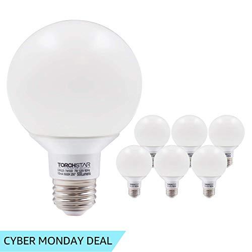 G25 Globe led Bulb Dimmable 7W 60W Equiv