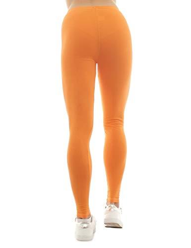 Unita Orange Leggings Donna Tinta Sys 6pHw1q