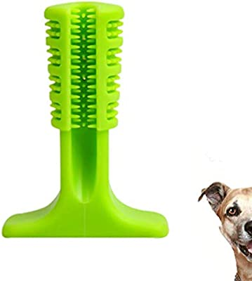 Jamisonme Pet Dog Cepillo, Suave Silicona Toothbrush Tooth Cleaner ...