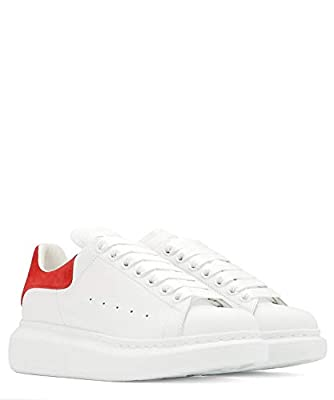 Alexander McQueen Luxury Fashion Womens 553770WHGP79676 White Sneakers   Season Permanent