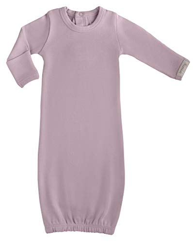 bonamy Baby Organic Cotton Gloved Sleeve Gown