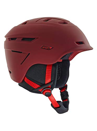Anon Men's Echo Helmet, Red, Small (Burton Red Ski Helmet)