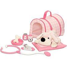 FAO Schwarz Penelope the Pup Vet Kit - Pink
