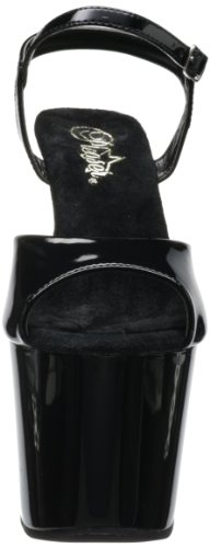 Sandalo Alla Taglia 4 Caviglia Blk 7 R Colore Revolver 1 4 Pleaser Gun Cinturino Heel 709 Embellished Pf s Donna 3 xwWRXWqAP0
