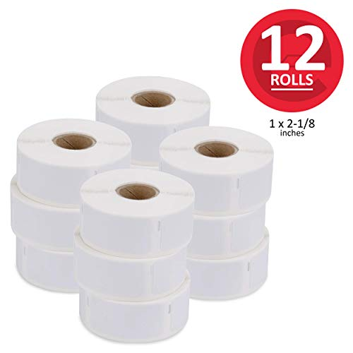 enKo [12 Rolls, 6000 Labels] Address & Shipping Labels 30336 (1