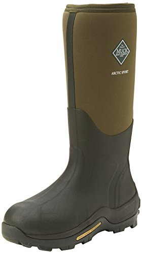 Muck Boot Unisex Arctic Sport Pull On Wellington Boots (8 M US / 9 W US) - Fleece 5 Mm Wader