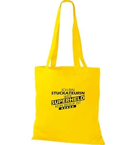 Para Amarillo Tela Bolso Algodón De Shirtstown Mujer Dorado IpqU7