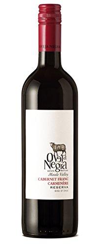 2015 Oveja Negra Reserva Maule Valley Chile Cabernet Franc-Carmenere 750 mL