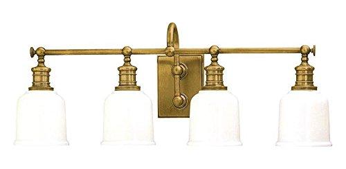 Aged Brass Four Light 29