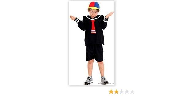 Amazon.com: HMADE Quico Kiko Costumes Kid Boy Size 10 Party ...