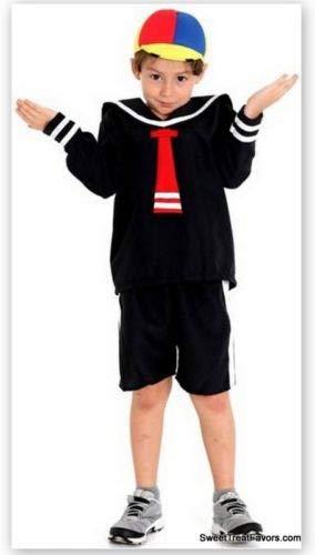 HMADE Quico Kiko Costumes Kid Boy Size 10 Party Halloween Traje Favors Birthday Toddler Baby
