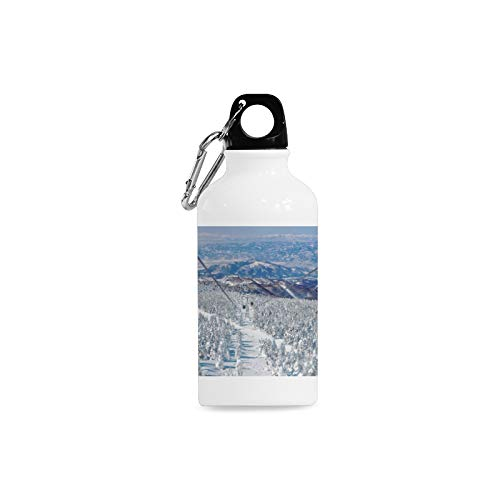 Jnseff Outdoor Simple Fashion Travel Japan City Scenic Area Travel Freedom Print Design Sport Water Bottle Aluminum Stainless Steel Bottle Aluminum Sport Water Bottle
