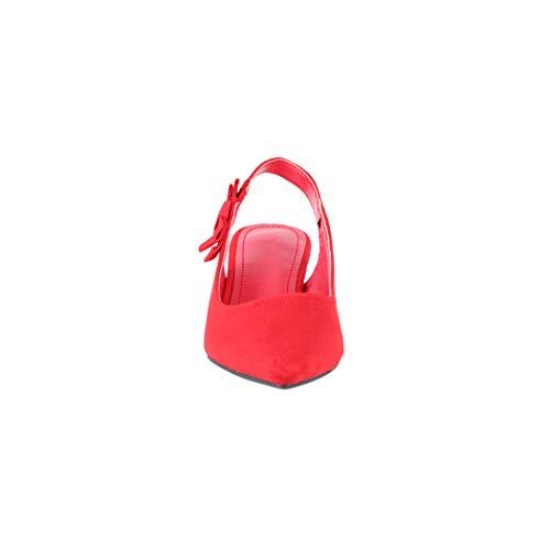 Sintético Zapatilla Mujer Elara Alta Rojo De xq8BzwwfH