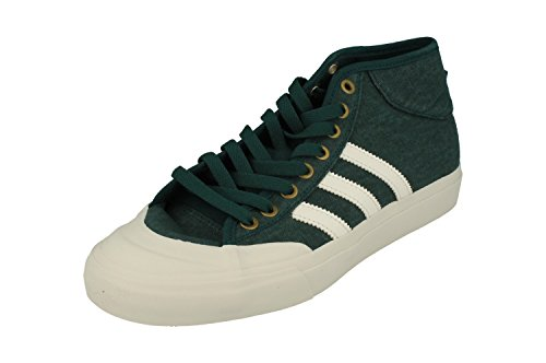 adidas Matchcourt Mid, Scarpe da Ginnastica Uomo, Verde (Vermis/Balcri/Dormet), 44 EU