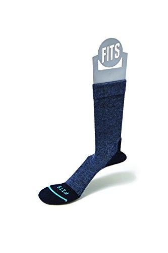 FITS Light Hiker - Crew Socks, Navy, L