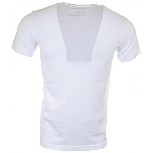 True Religion Traditional Logo White T-Shirt XL White